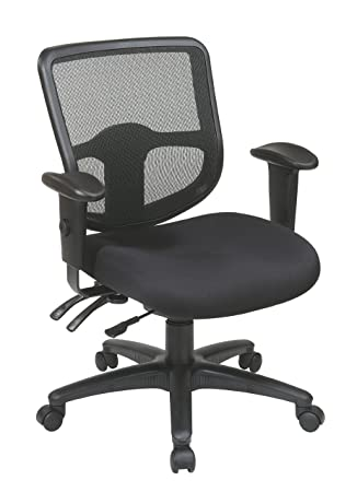 Office Star Ergonomic Task Chair with ProGrid Back and Ratchet Back Height  Adjustment with ArmsAmazon com  Office Star Ergonomic Task Chair with ProGrid Back and  . Office Star Ergonomic Chair. Home Design Ideas