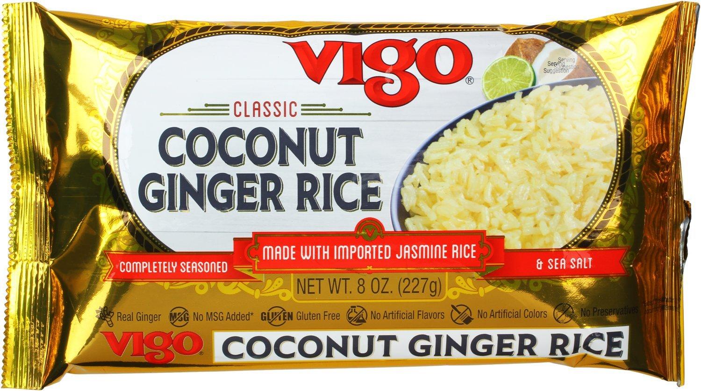 Vigo mezcla de arroz, bolsas de 8 onzas (paquete de 12 ...