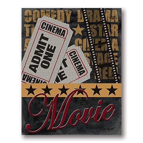 Amazon.com: Old-Fashioned Película y Admit One Ticket Cine ...