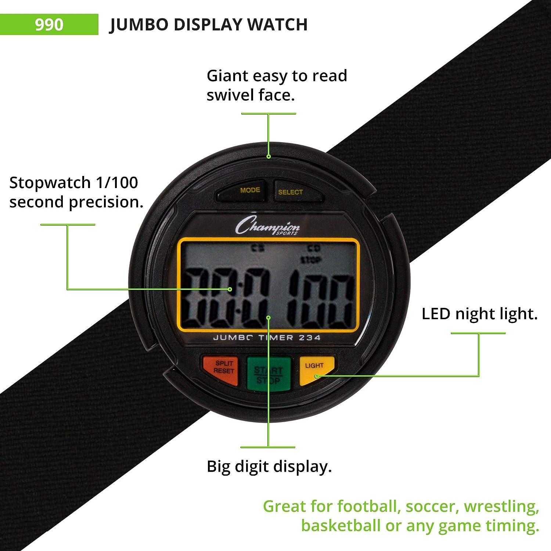 champion watch instruction manual