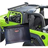 Badass Moto Gear Jeep Sun Shade Jeep TJ Front Shade Badass Black