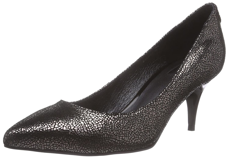 Giudecca JY1520-1 - Zapatos de tacón Cerrados de Cuero Mujer