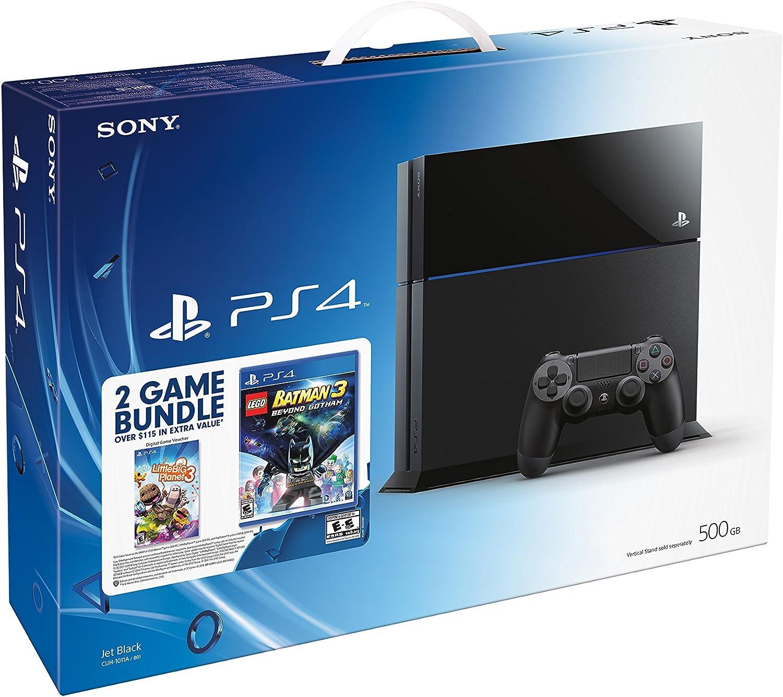 Sony PlayStation 4 Negro 500 GB Wifi - Videoconsolas (PlayStation 4, Negro, 8192 MB, GDDR5, AMD Jaguar, AMD Radeon): Amazon.es: Videojuegos