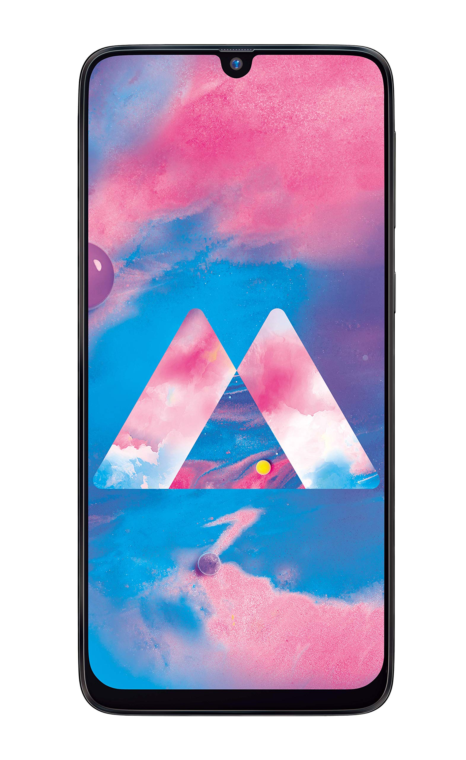 Samsung Galaxy M30 (Stainless Black, 5000mAh Battery, Super AMOLED Display, 3GB RAM, 32GB Storage) product image