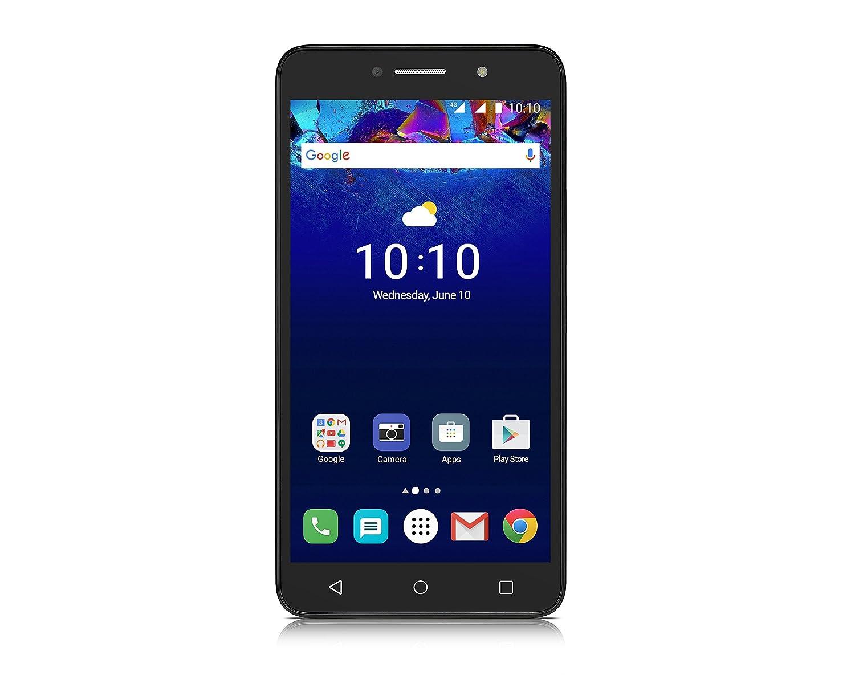 Alcatel Pixi 4 6-Inch LTE Unlocked Smartphone with 1 GB RAM, 8 GB ROM, US  Warranty - (Metallic Silver)