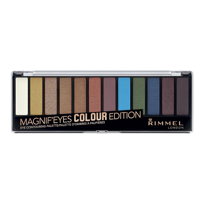 Rimmel Magnif'eyes 12 Pan Eyeshadow Palette, Blushed Edition, 14 g Coty 34560754002