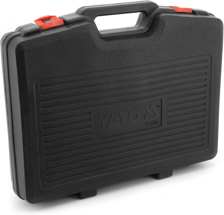 Yato yt-2536/ /interchangeables Compresseur de ressorts et de l/élimination de 7pcs Outils de fourche