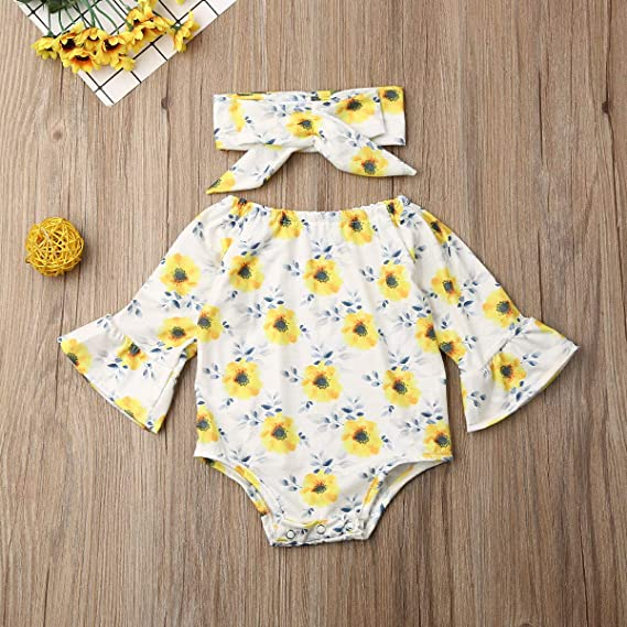 suomate Toddler Baby Girl Linen Solid Colour Bow T-Shirt Top+Short 2Pcs Set Summer Outfit