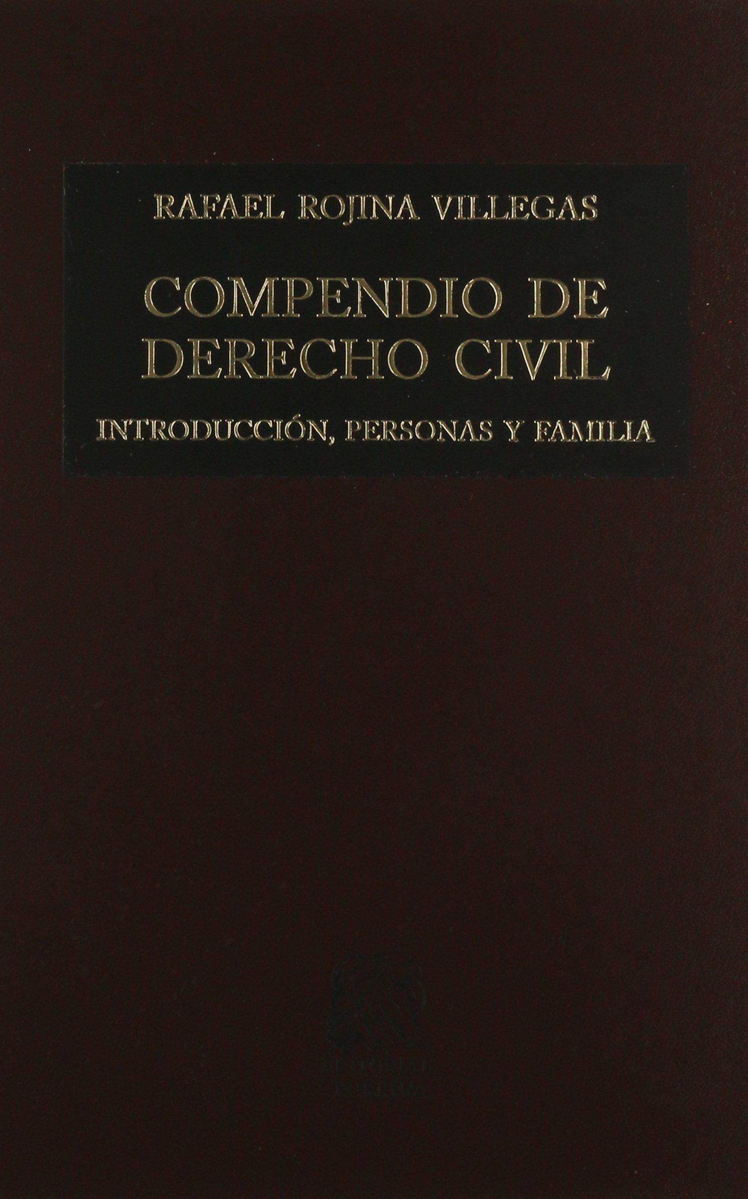 compendio de derecho civil rafael rojina villegas