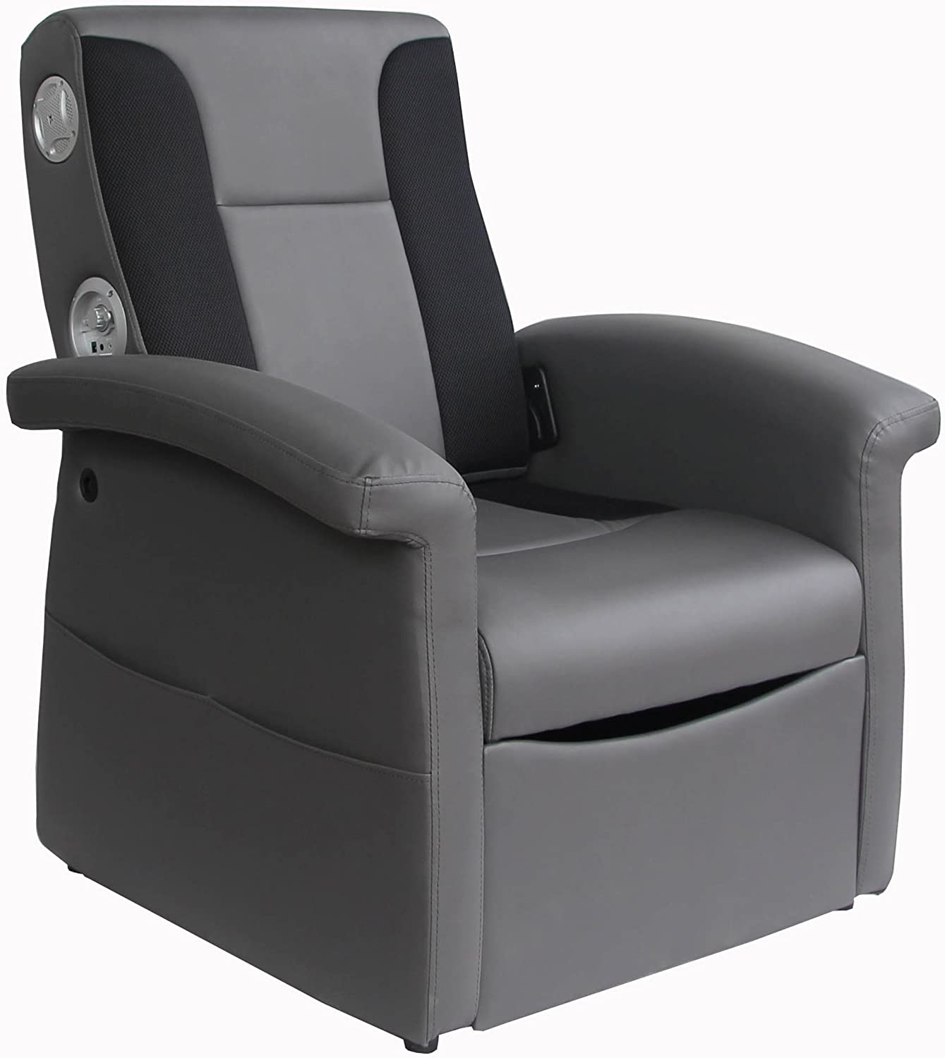 X Rocker Triple Flip 2.1 Sound Recliner Chair