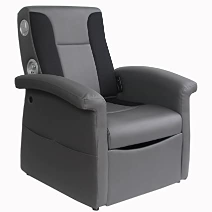 Remarkable X Rocker Triple Flip 2 1 Sound Recliner With Storage Compartment Foldable Gaming Chair Home Theater Seating With 2 Speakers And 4 Subwoofer Frankydiablos Diy Chair Ideas Frankydiabloscom