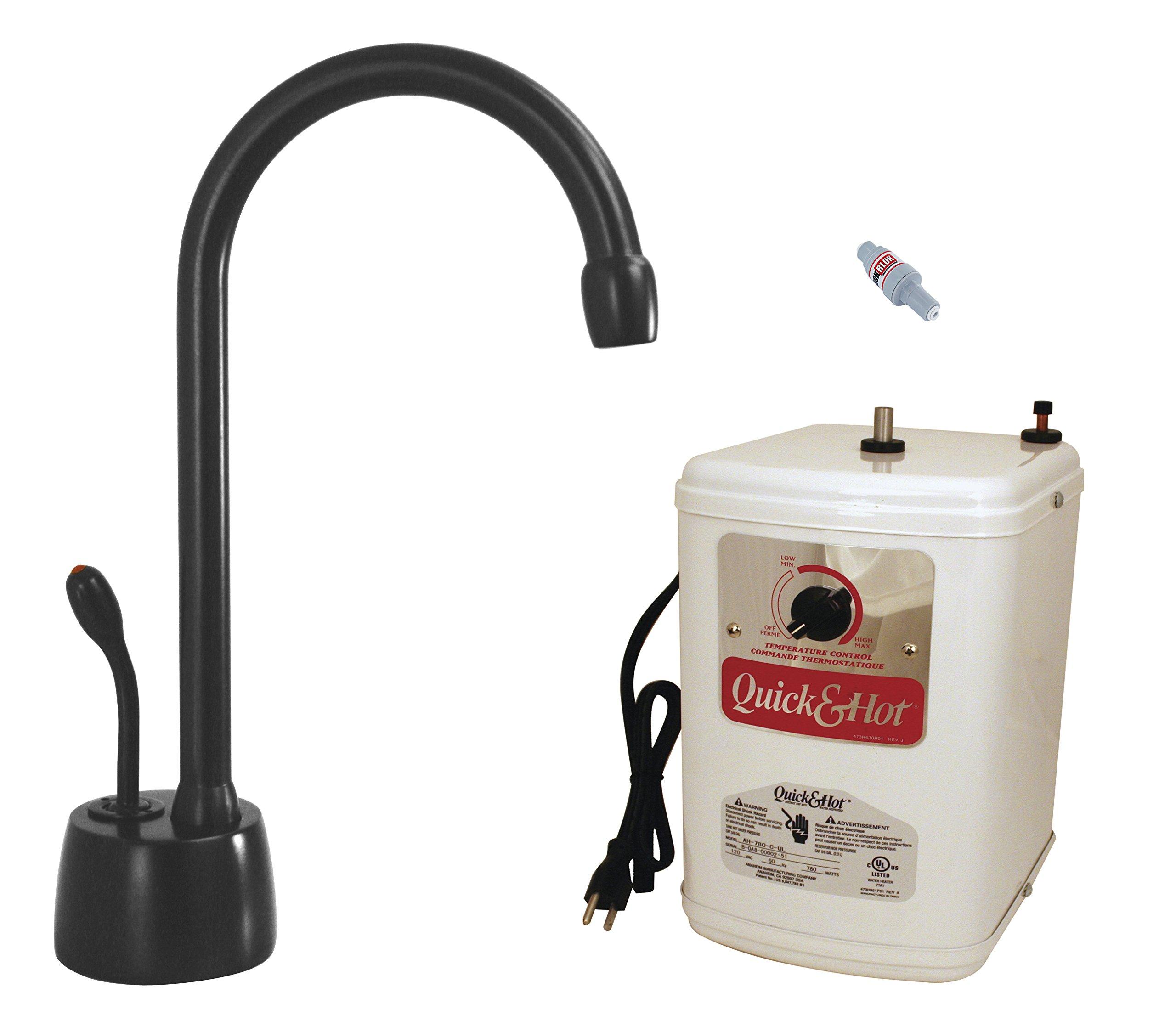 Westbrass D271HFP-62 Velosah Contemporary Water Dispenser, Matte Black by Westbrass