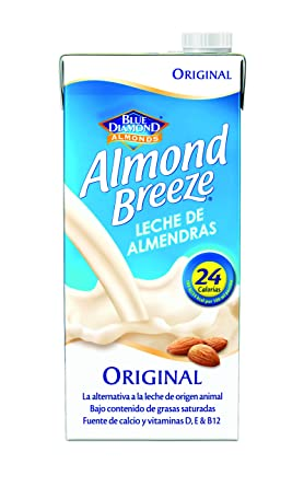Almond Breeze Bebida de Almendra Original - Paquete de 6 x 1000 ml - Total: