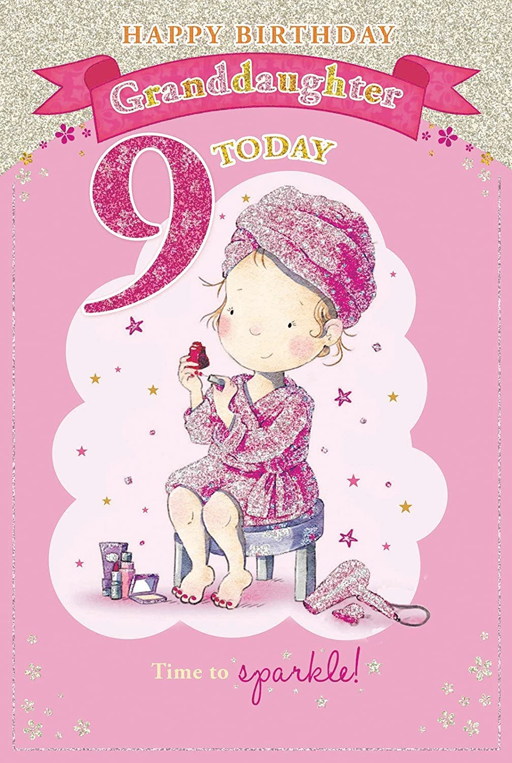 For A Special Granddaughter on Your 11th birthday card 7329 CG – 11th Birthday Cards