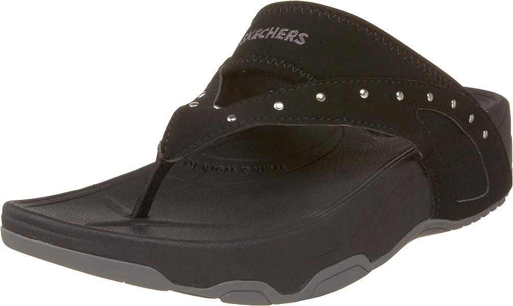 bca00cb8f002 Skechers Sport Women s Glamgirl Thong Sandal