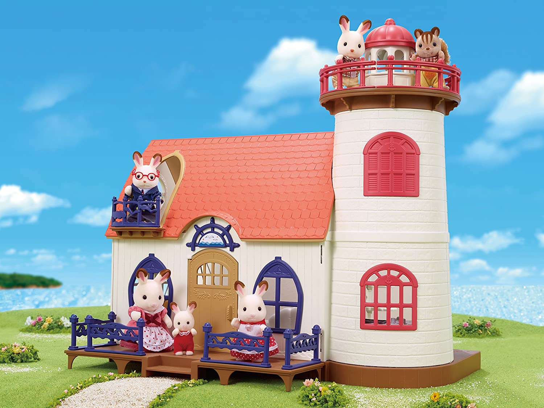 Sylvanian Families 5267 Leuchtturm Himmelsstern Puppenhaus Amazon Bott Ant 9 Spielzeug