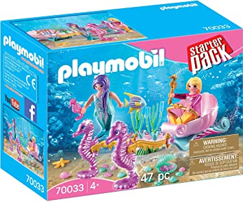 Playmobil 70033 Starter Pack Starter Pack Caballito de mar Carruaje