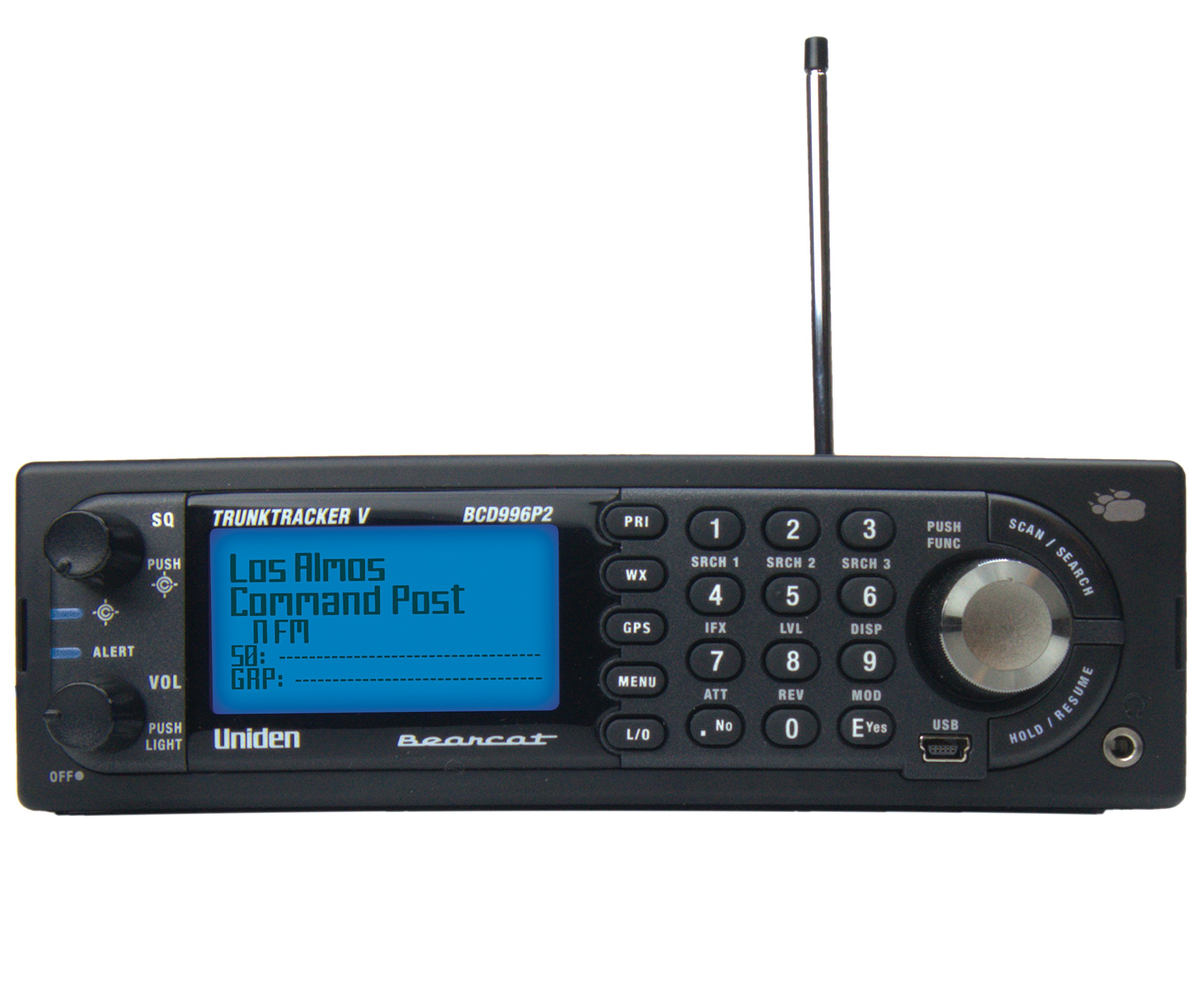Uniden BCD996P2 Base/Mobile PROGRAMMED Phase II Digital Scanner by Uniden (Image #2)