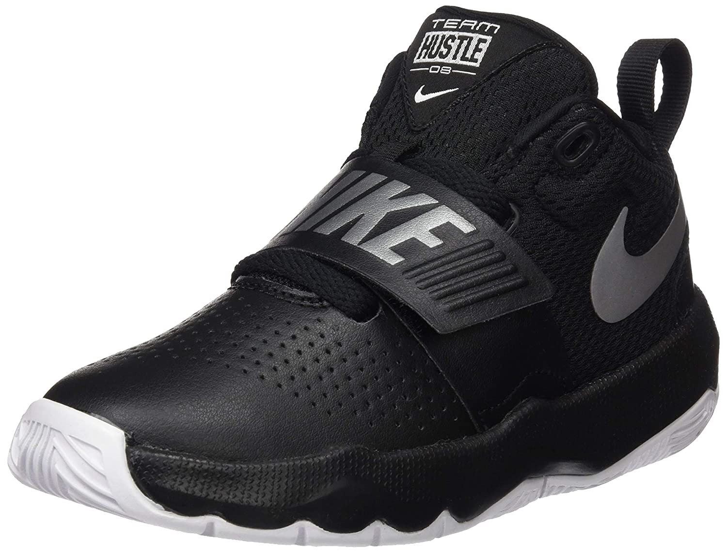 nike kids team hustle d 8 basketball shoe