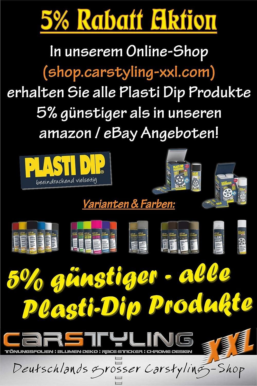 Carstyling-xxl.com colore cromato 12 x 10 mm Strisce adesive decorative per auto