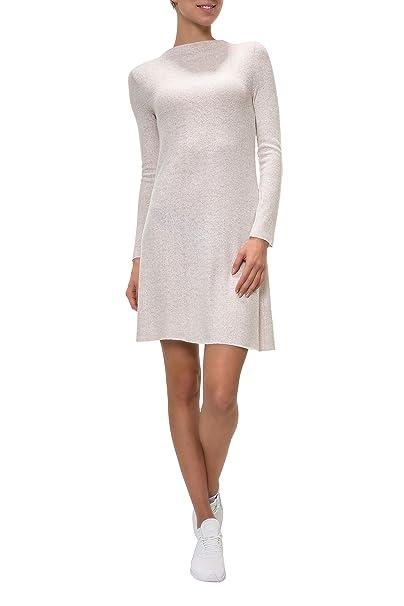 Only Onlkleo L/s Dress Knt Noos, Vestido para Mujer, Beige (Hazelnut