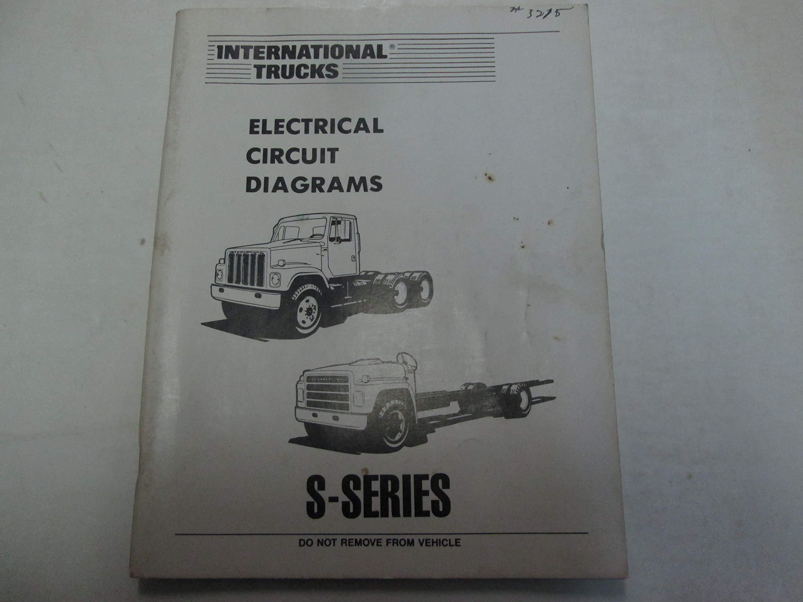 [DIAGRAM_38DE]  International Trucks S Series Electrical Circuit Wiring Diagrams Manual OEM  ***: IN INC: Amazon.com: Books | International Wiring Diagrams |  | Amazon.com