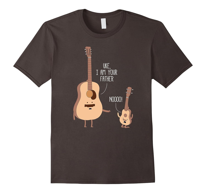 Uke I Am Your Father T Shirt Ukulele Guitar Music-T-Shirt
