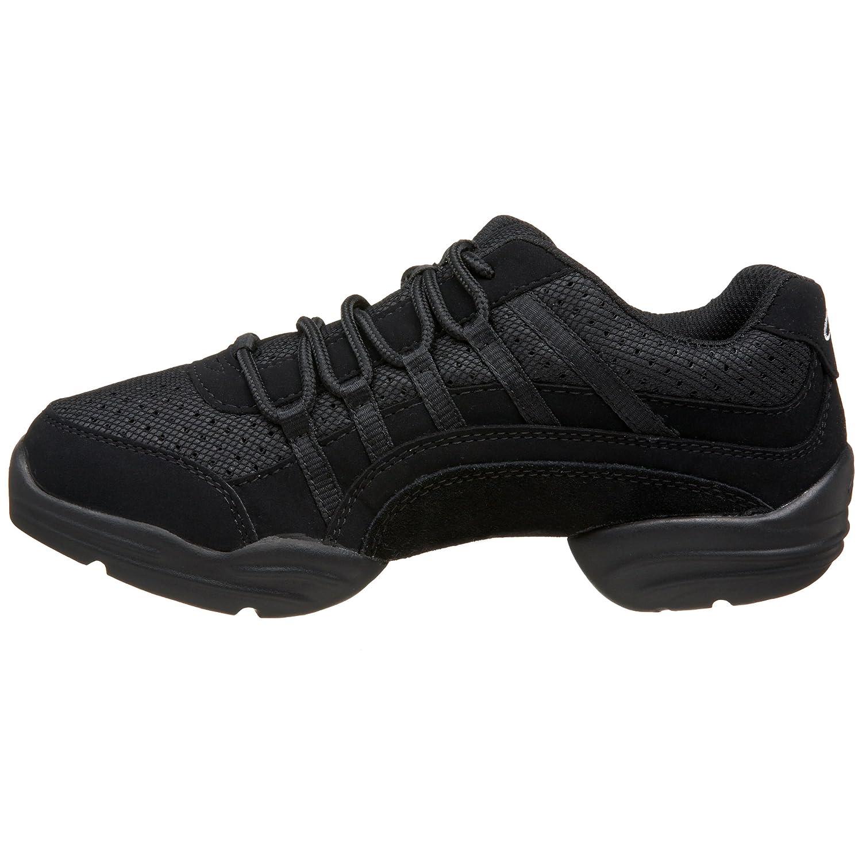 Capezio Women's DS24 Rockit Dance Sneaker B001O7X52I 12 B(M) US|Black