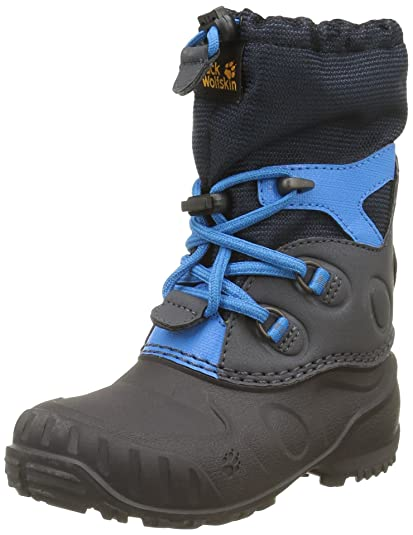 wholesale dealer 3611e 98dab Jack Wolfskin Unisex-Kinder Iceland Passage High K Schneestiefel