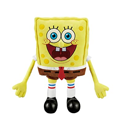 "Spongebob Laughpants, +17"" Premium Plush, +20 Jokes & Sounds!: Toys & Games"