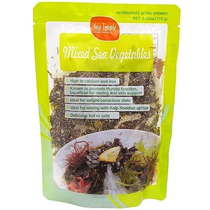 Mar Maraña fideos Company, Mixed Mar verduras, 6 oz (170 g ...