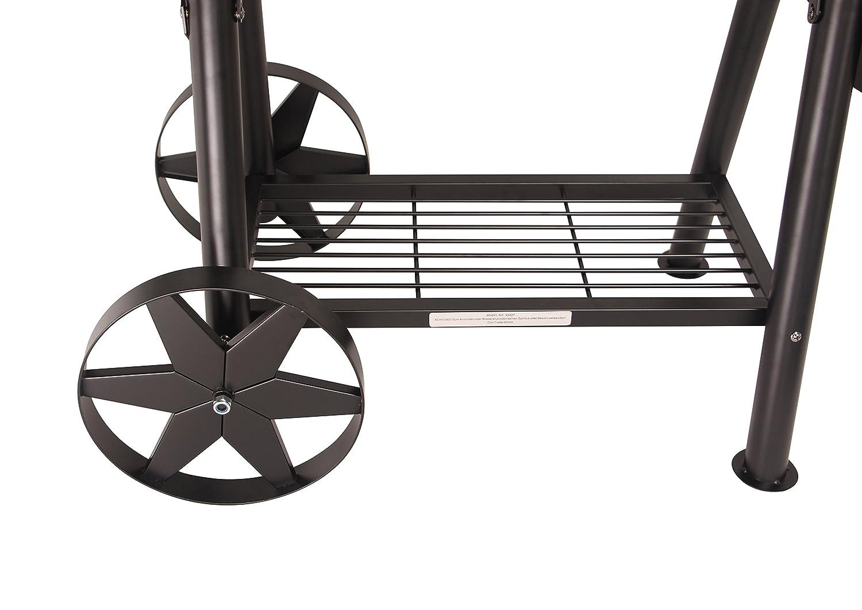 90 kg Grill Smoker Räder