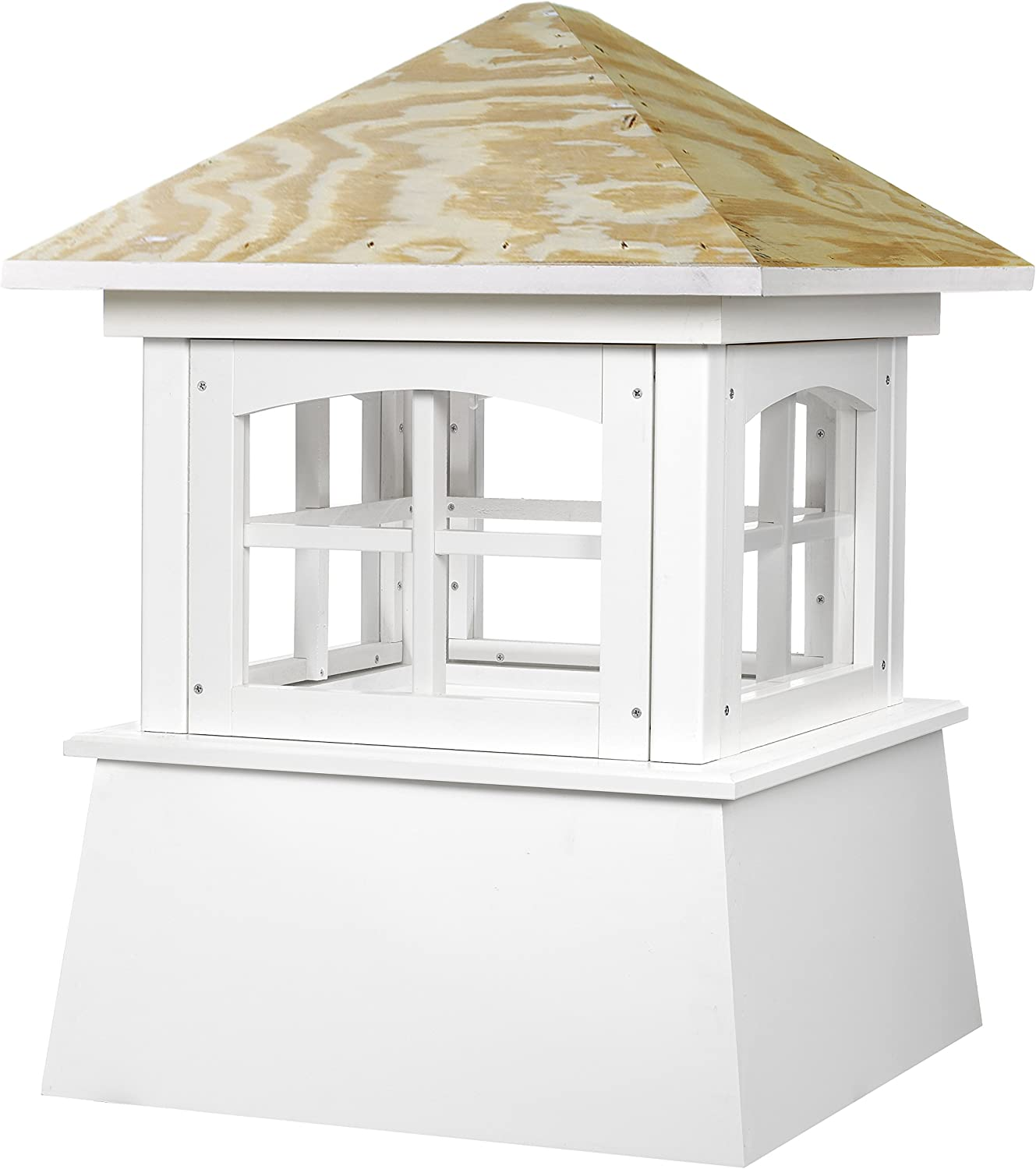 """Good Directions Brookfield Vinyl Cupola with Wood Roof 18"""" x 25"""""""