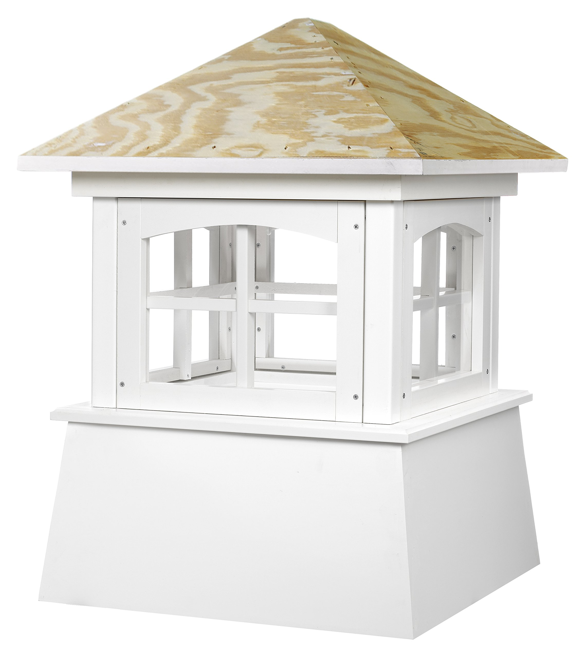 Good Directions Brookfield Vinyl Cupola with Wood Roof 18'' x 25'' by Good Directions