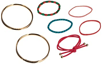 Amazon.com   Goody Boutique Hair Tie Bracelets 82507b044d8
