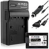 Batterie + Chargeur (Auto/Secteur) pour Sony NP-FH50/FP-50 / DSC-HX1, HX100V, HX200V / Alpha... - v. liste!