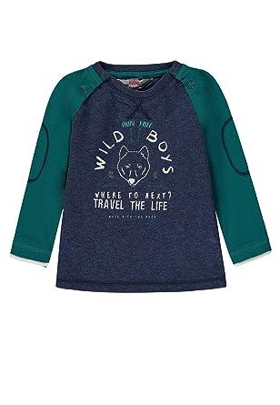 Kanz Pullover T-Shirt langarm Langarmshirt Rosa Baumwolle Mädchen Gr 80
