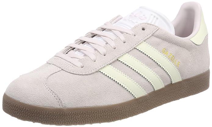 adidas Damen Gazelle Fitnessschuhe Sneaker Grau Tinorc Gum