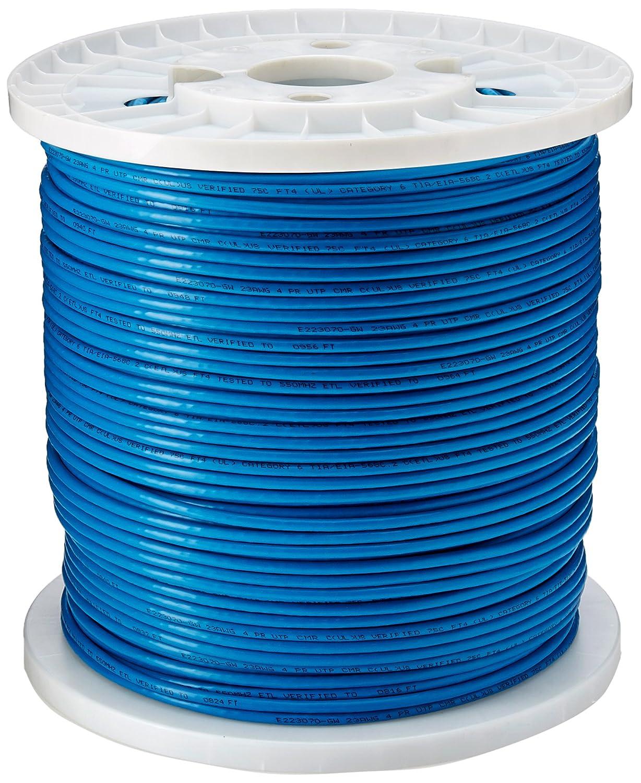 Tripp Lite Cat6 Gigabit Bulk Solid Pvc Cable Blue 1000 Cat5e Wiring Diagram Get Free Image About Ftn222 01k Bl Electronics