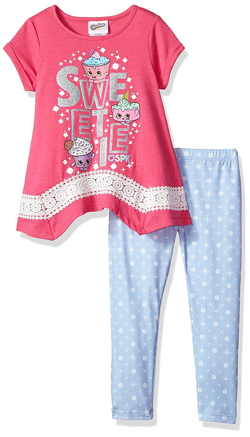 bb271097b20 Top5  Shopkins Girls  Little Dance Off Legging Set