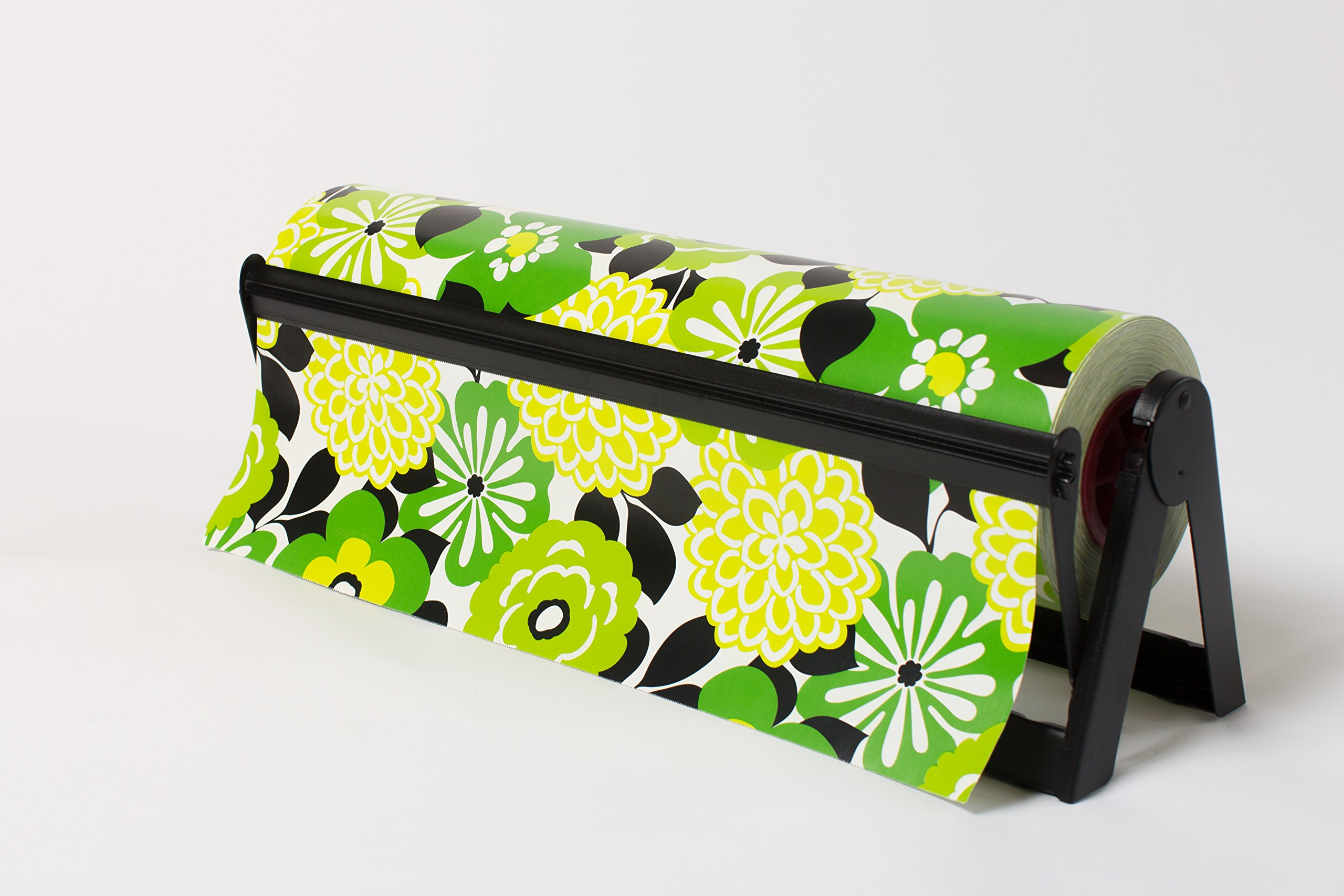 24'' Matte Black - All In One Paper Roll Dispenser (2 Dispensers) - Bulman-A500-24MB