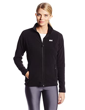 Amazon.com : Helly Hansen Ladies Daybreaker Fleece Jacket Black ...