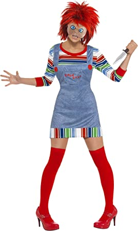 Smiffys - Disfraz de chucky para mujer, talla S (39099S): Smiffys ...