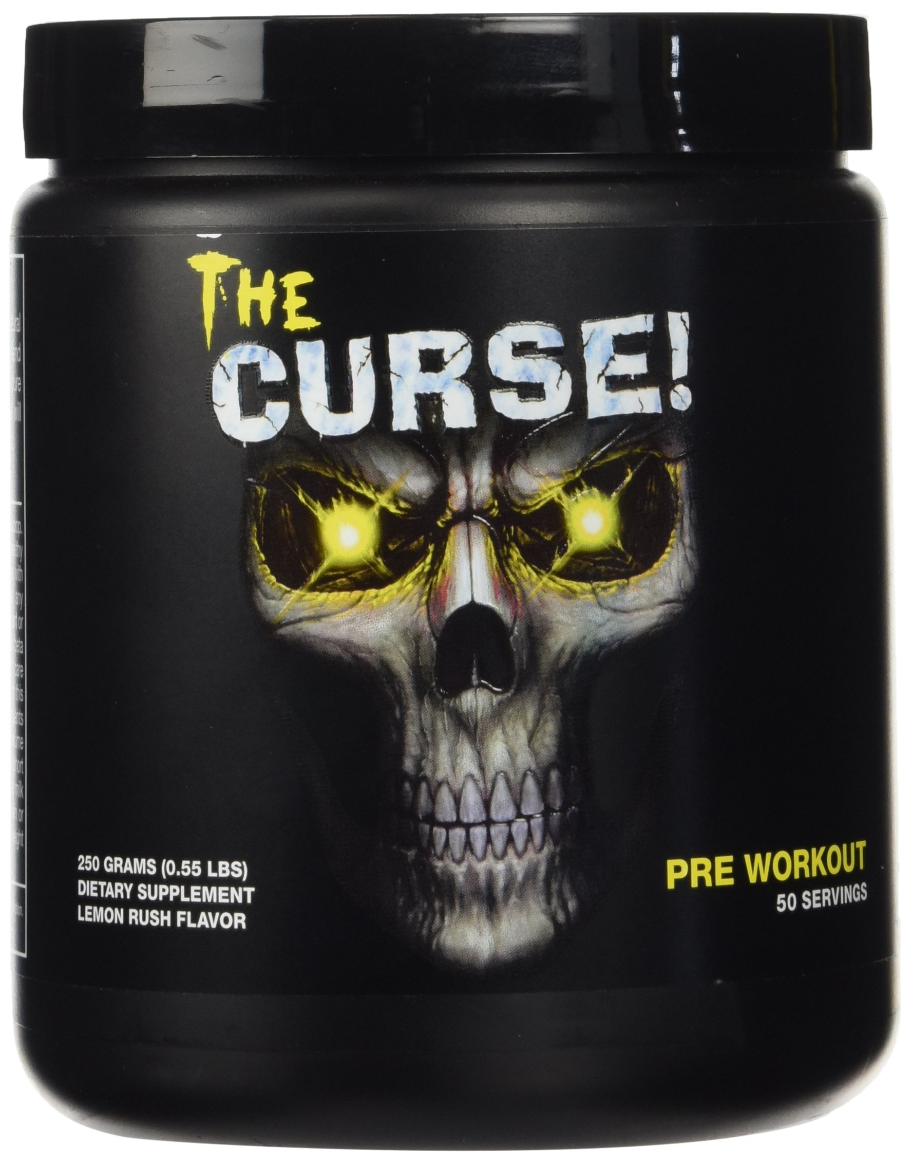 Cobra Labs The Curse Advanced Pre-Workout 50 Servings Lemon Rush 250g by Cobra Labs