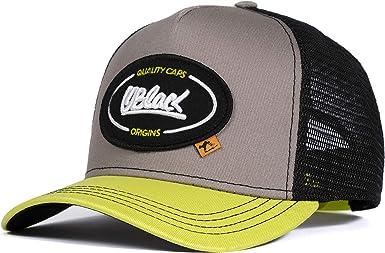Baseball Cap Oblack Mens Trucker Cap Classic Padded Front and Visor