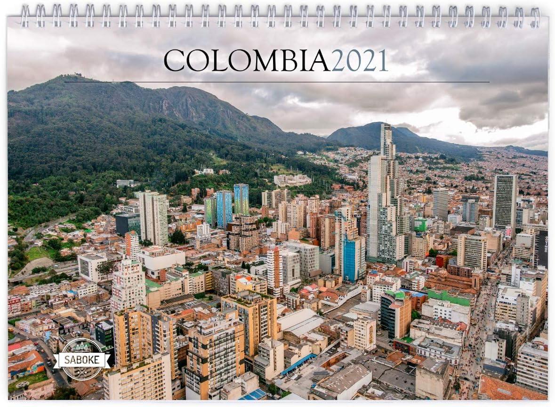 Colombia 2021 Wall Calendar