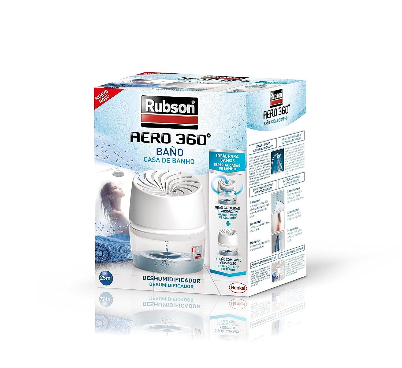 Rubson Aero 360º Baños Deshumidificador para el Baño, color blanco: Amazon.es: Bricolaje y herramientas