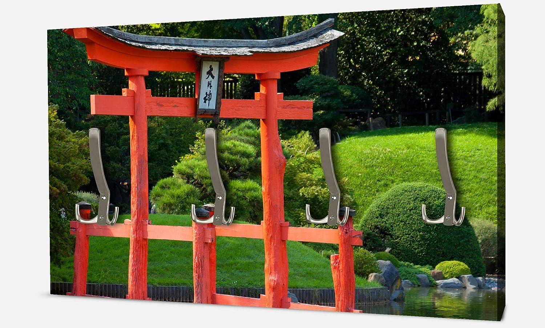 wandmotiv24 Guardarropa Jardín y Estanque con una Torre Zen ...