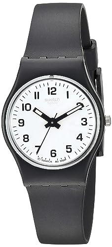 d3a54a06712 Image Unavailable. Image not available for. Colour  Swatch Women s Analogue  Quartz Watch ...