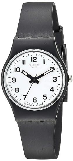 Swatch Reloj Analógico de Cuarzo para Mujer con Correa de Plástico - LB 153: Amazon.es: Relojes